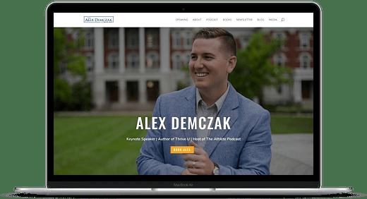 alex demczak alex speaking